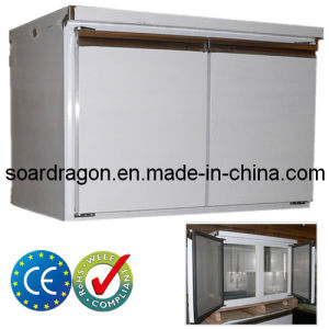 2-Door Stainless Steel Bench Fridge CE Approved pictures & photos