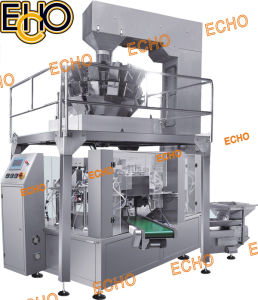 Rotary Preformed Bag Filling Sealing Packaging Machinery pictures & photos