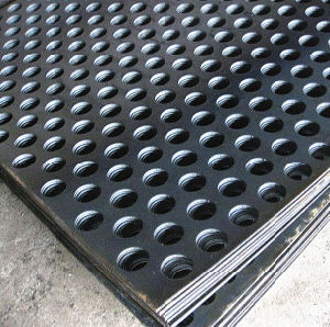 Decorative Round Hole Perforated Metal