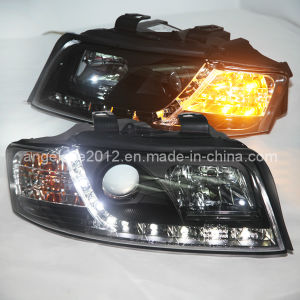 A4 Projector Lens LED Lamp for Audi 2001-2004 Year