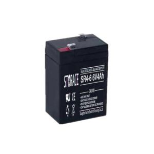 Lead-Acid Battery SR4-6 6V4ah Rechargeable Battery pictures & photos