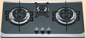 Three Burner Hob (HR-FB2B)