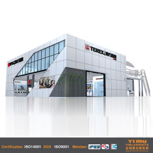 Trade Show Booth for Shanghai Exhibition