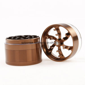 Newest 5 Layers Multi Colour Metal Crusher Tobacco Spice Herb Grinder pictures & photos