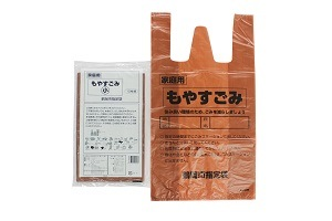 Plastic Garbage Bags --T-Shirt Bags for Japan