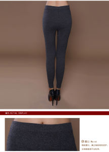 Yak Wool Knitted Pants/Cashmere Pants/Yak Cashmere Pants pictures & photos