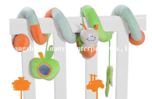 Factory Supply Infant Baby Bed Plush Spiral Toy pictures & photos