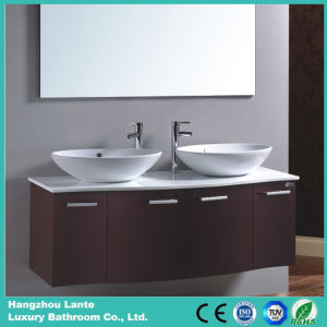 Luxury Modern Concise Wall Mounting Bathroom Vanity (LT-C050) pictures & photos