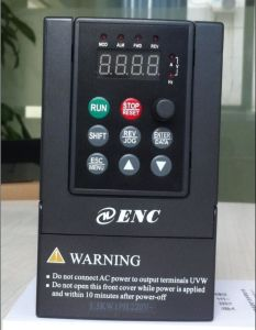 AC Drive for Single Phase 220V 2.2kw 3HP Motor