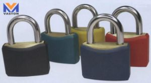 Plastic Coated Brass Padlocks pictures & photos