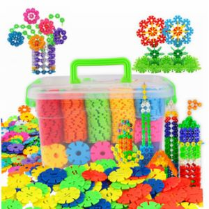 Chilren DIY Educational Toys Building Blocks Kids Promotion Gift Snowflake pictures & photos