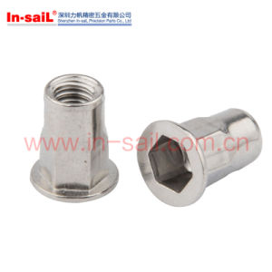 Stainless Steel Reduce Head Round Body Plain Rivet Nuts pictures & photos