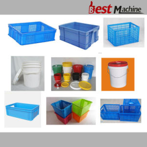 Customized Plastic Basket Injection Moulding Machine pictures & photos