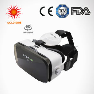 Vr Viewer Virtual Reality Mask Suitable for The Short Sighted & Hyperopia and Kids with Adjustable Strap Movie Games 3D Vr Headset Glasses for Ios & Android & W