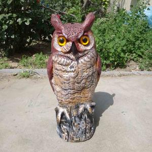 China Zilin Manufaturer Great Horned Owl Decoy Garden Owl Decoy for