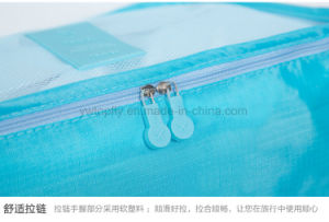 2017 Waterproof 6PCS/Set Traveling Packing Clothes Organizer Storage Bag pictures & photos