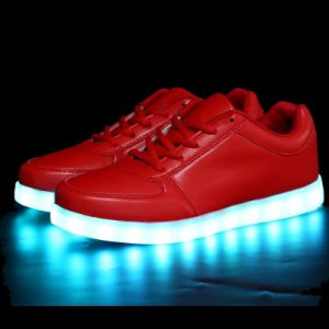 Fashion Sneakers LED Light Sports Shoes