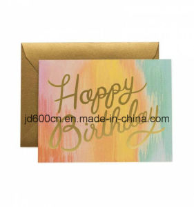Paper Brochure/Greeting Cards Low Price Wholesale pictures & photos