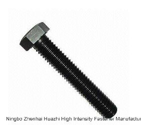 DIN933 Carbon Steel Hex Bolts Full Thread All Grade pictures & photos