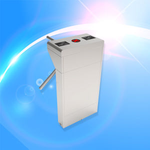 Automatic Fingerprint RFID Tripod Turnstile for Entrance/Exit System Waterproof SUS304 Stainless Steel pictures & photos