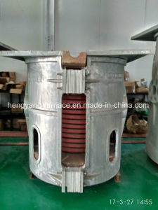 Induction Furnace for Melting Metal Steel Iron Zinc Wolfram (GW-7500KG) pictures & photos