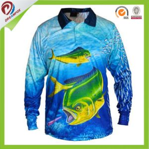 7468e4db7 China Custom Wholesale Dry Fit Sublimated Fishing Shirt with Free ...