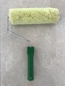 Acrylic Material Paint Roller Brush with Plastic Handle