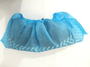 CPE Shoe Cover with Printing, Disposable Shoe Cover, PE Shoe Cover pictures & photos