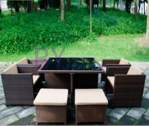 PE Rattan Home Furniture Dining Set