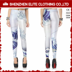 Ladies Sexy Sublimation Polyester Spandex Legging Yoga (ELTLI-70) pictures & photos