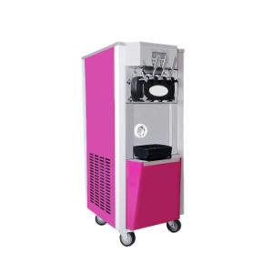 Pre Cooling Air Pump Soft Ice Cream Snack Machine Maker