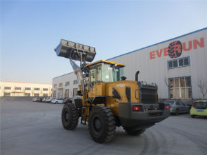 Everun Brand CE Approved Articulated 3.5 Ton China Wheel Loader pictures & photos