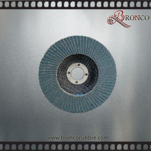 China Supplier Sharpness T27 115mm Grit 40 Zirconia Flap Disc for Stainless Steel Polishing, Fiberglass Backing