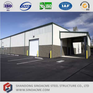 Sinoacme Prefabricated Structural Steel Building with Office pictures & photos