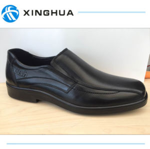 Best Price Black Men Office Shoes pictures & photos