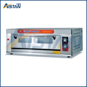 Htr-14q Factory Price Stainless Steel 1 Layer-4 Tray Gas Deck Oven for Bakery Equipment pictures & photos