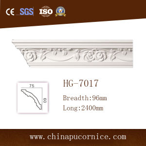 PU Architectural Moulding/PU Ceiling Cornice Moulding for Interior Decoration
