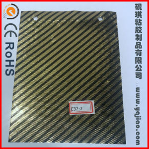 Cheap Price Gold Color Membrane PVC Vinly Door Skin Film for Door pictures & photos