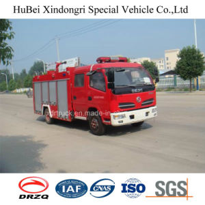 4ton Dongfeng Inner Mini Fire Engine Truck Euro 4