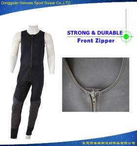 3mm Neoprene Men Jacket Vest Tank Tops Rescue Surfing Suit