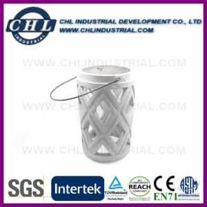 Factory Wholesale Various Design Customized Logo Printing Concrete Candle Holder pictures & photos