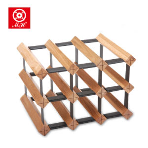 Factory Outline Wholesale Bordex Design Wine Rack with SKD Packing