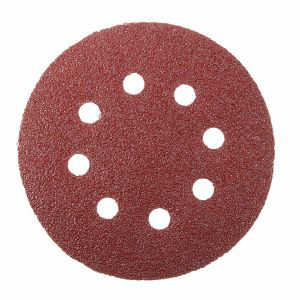 Hook and Loop Sanding Discs 115mm 8 Hole P80 pictures & photos