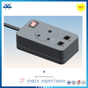 Socket Type ADSL Modem Power Signal Protection Rj11 Lightning Protector pictures & photos