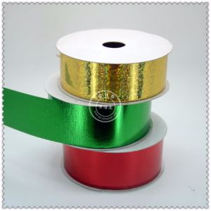 Double Face Polyester Satin Ribbon Roll pictures & photos