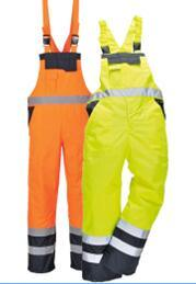 High Quality High Visibility Cargo Pockets Bib Trousers pictures & photos