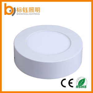 6W Lamp Round Downlight Surface Mounted 85-265V 50-60Hz LED Ceiling Panel