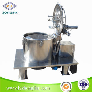 Full Stainless Steel Food Standard Flat Type Vegetable Oil Filter Centrifuge pictures & photos