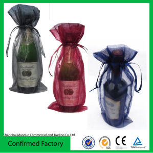 Organza Wine Bottle Pouch Bag (directly from factory)