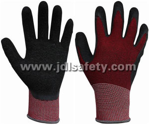 Work Glove Latex Coating on Palm (LCS3019) pictures & photos
